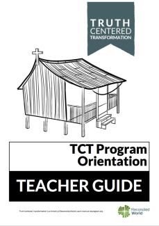 TCT Orientation Self Study Cover